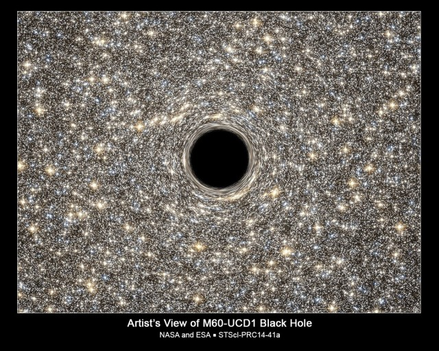 BLACKHOLE NASA CHANDRA PIC. 14-251_0